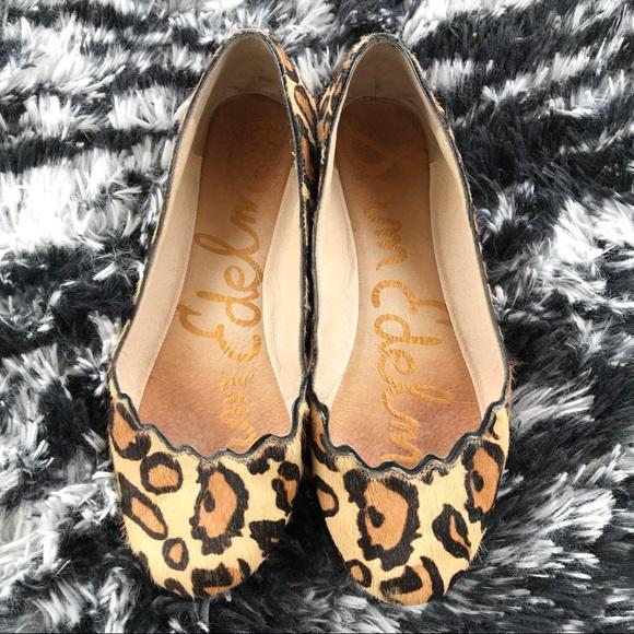2dd41ca50432 Sam Edelman Shoes - Sam Edelman Alaine Leopard Flats